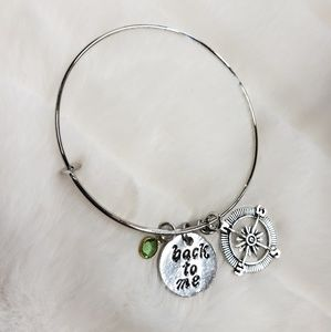 Jewelry - NEW back to me compass rose bangle bracelet
